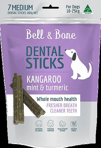 Kangaroo, Mint and Turmeric Dental Sticks Medium