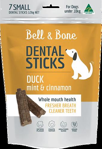 Duck, Mint & Cinnamon Dental Sticks Small