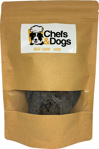 Dehydrated Beef Liver 100g