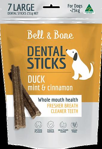 Duck, Mint & Cinnamon Dental Sticks Large