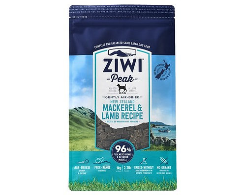 Ziwi Peak Mackeral & Lamb Recipe 1kg