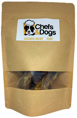 Dehydrated Chicken Necks 100g