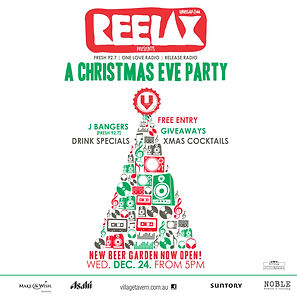 Dance Music Christmas Eve Party