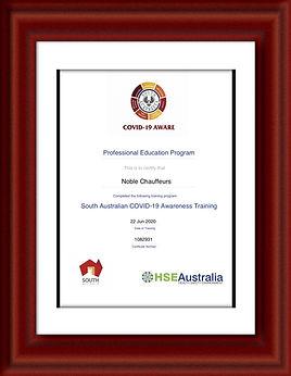 COVID Aware Certificate