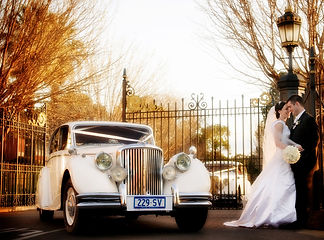 Classic Jags Jaguar Wedding Car