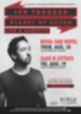 Jon Toogood Shihad Live Music Concert
