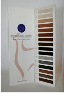 BAS alpaca colour chart