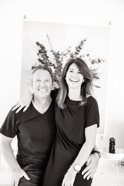 Couples photoshoot indoors in black and wite