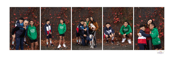 Family photoshoot portrait series on location in Auckland with professional photographer Angela Scott