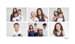 Family photography series of images in Auckland studio