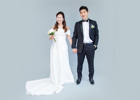 Studio Session in Wedding Attire