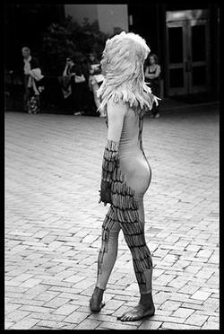 Dancer Awaiting Cue