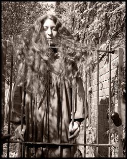 Frannie at the Garden Gate