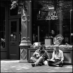 Occidental Square #7, 1990