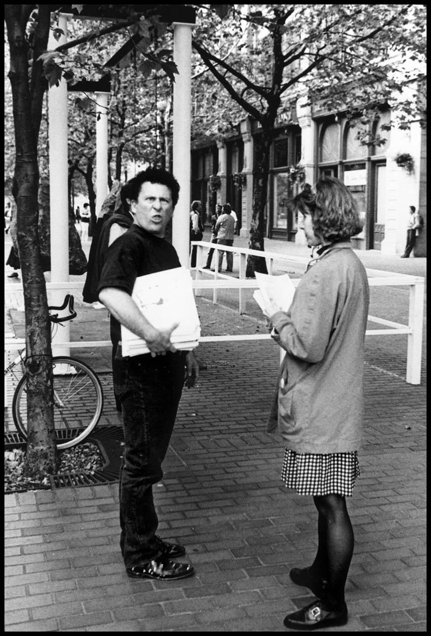 Occidental Square #10, 1990