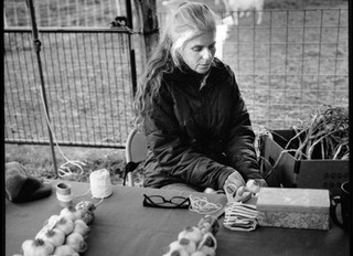 Braiding Garlic Then and Now, Lament for a Market