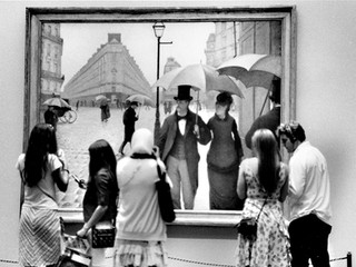 A Rainy Day in the Art Institute of Chicago