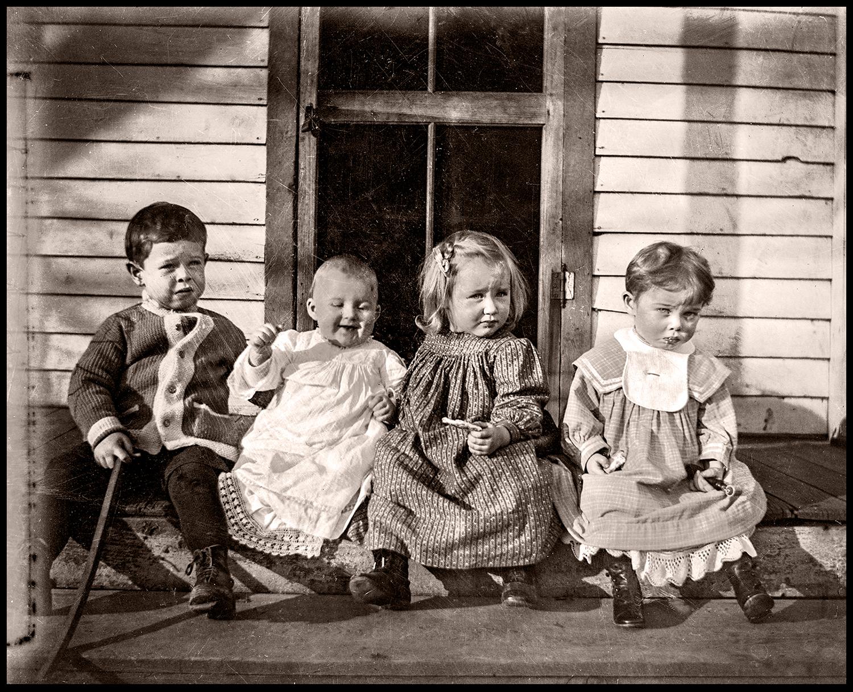 Thomas, Jennie, Aurelia, & Jennnie