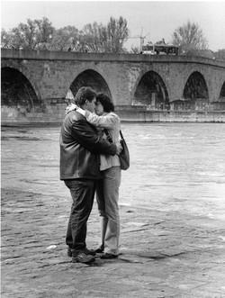 The Kiss at the Stone Bridge