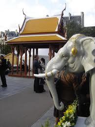 ศาลาไทยถอดประกอบได้ ประเทศฝรั่งเศส