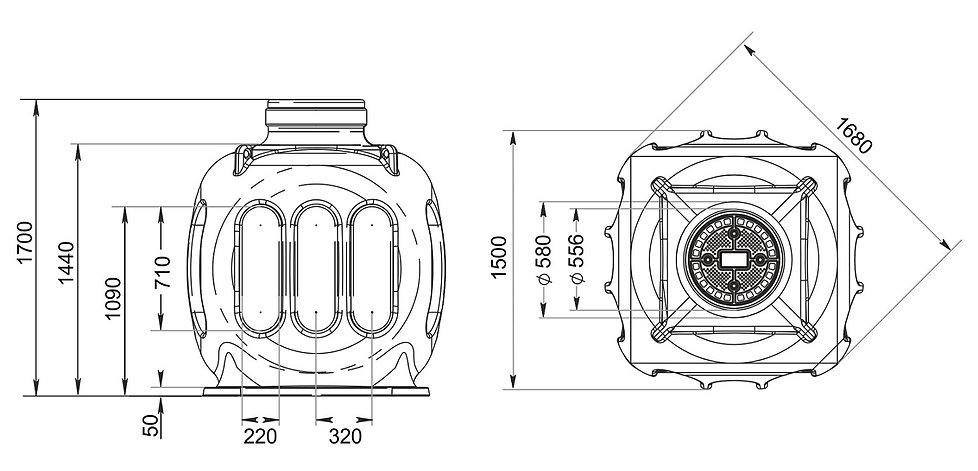 чертеж кабельного колодца КС-5