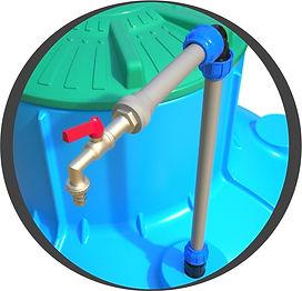 Ввод трубопровода в кессон
