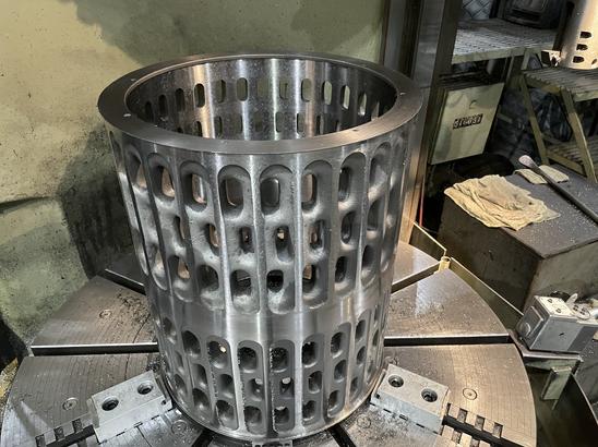 Grade 2 titanium filter basket