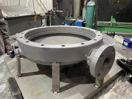Rebuilt pump casing