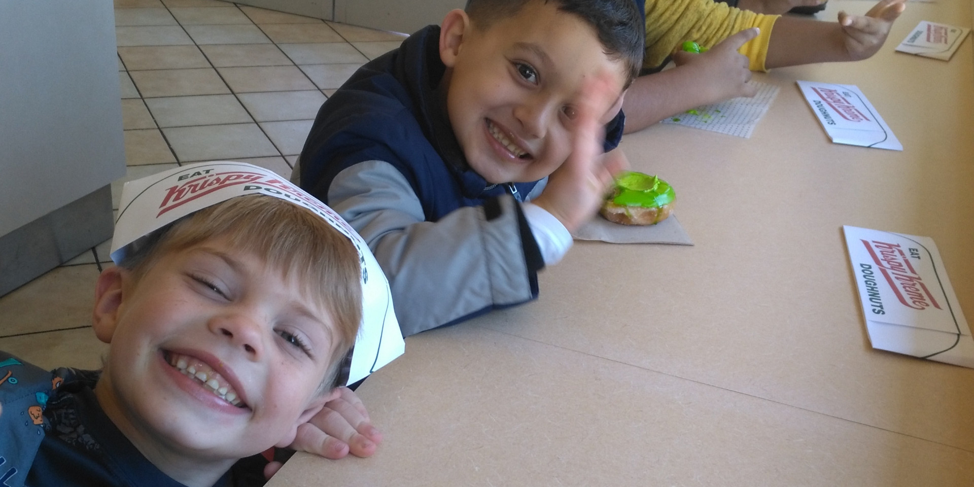 Fun Friday trip to Krispy Kreme