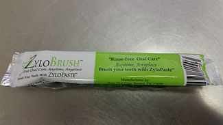 fluoride-free prepasted toothbrush