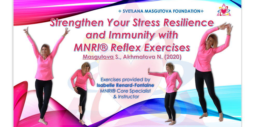 2.4 - Strengthen Your Stress Resilience Morning Exercises at 9:00 AM