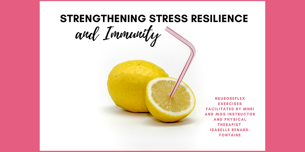 12.9 @ 9 AM Eastern -> Strengthen Your Stress Resilience and Immunity