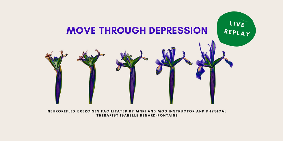 12.3 @ 1 PM Eastern -> REPLAY: Move Through Depression