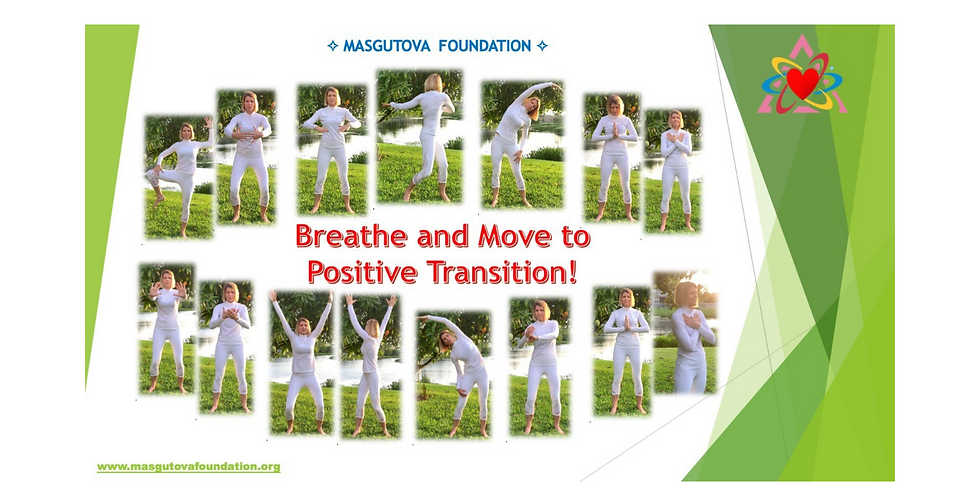 SPECIAL EVENT: 4.22 @ 9 AM EDT -> Breathe and Move to Positive Transition NeuroReflex Exercises