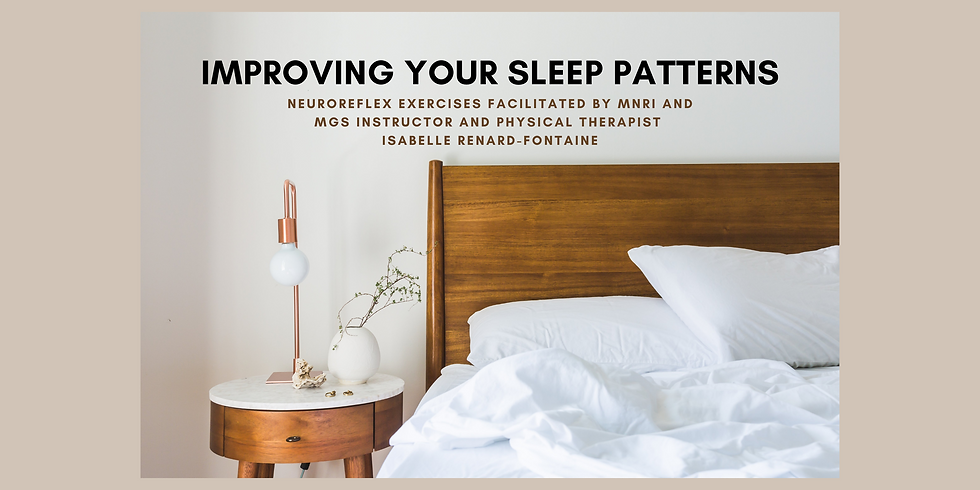 7.8 @ 9 AM Eastern -> Improving Your Sleep Patterns