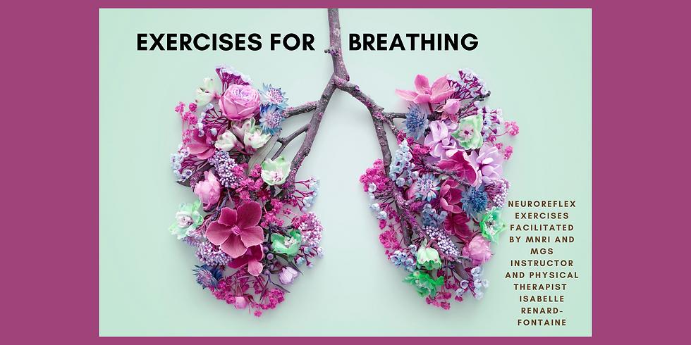 6.24 @ 9 AM Eastern -> Exercises for Breathing