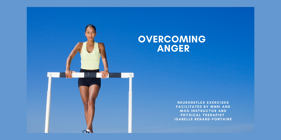 11.4 @ 9 AM Eastern -> Overcoming Anger