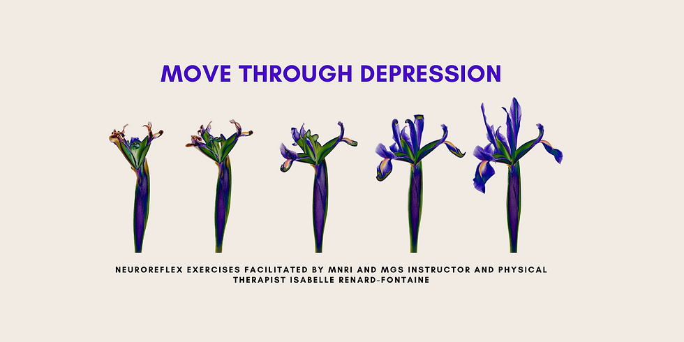 9.23 @ 9 AM Eastern -> Moving Through Depression