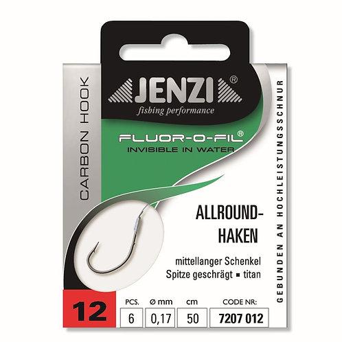 Jenzi - Haken (geb.) - allround - 6 Stück