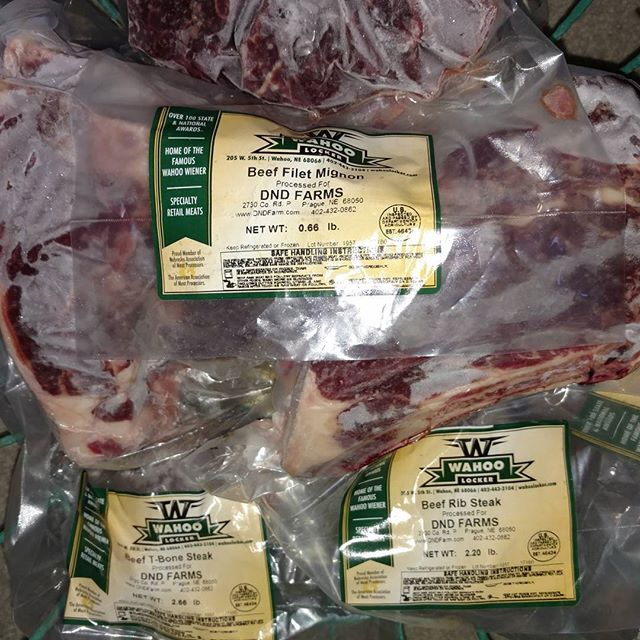 Beef pick up day is my favorite day! Private label Irish Dexter beef