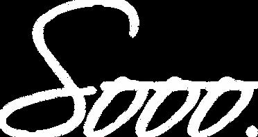 Sooo. logo WHITE .png