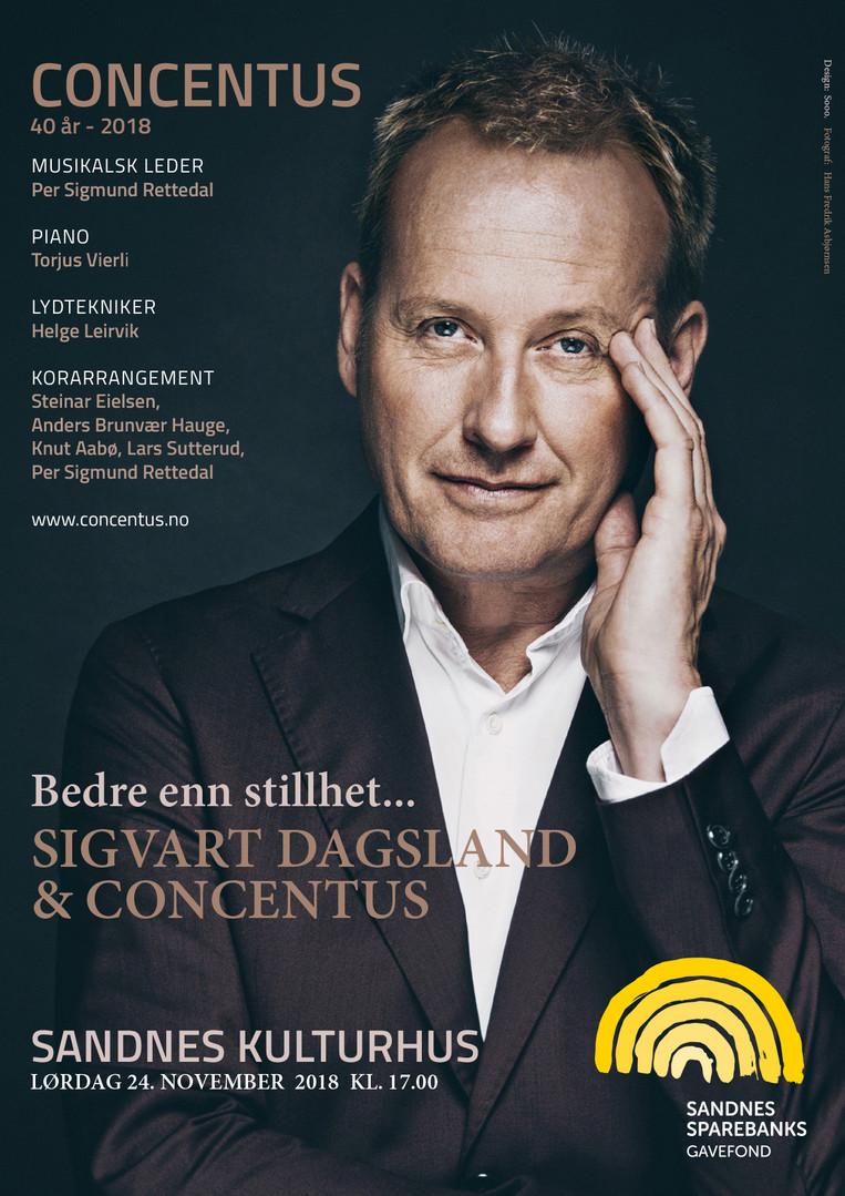 Sigvart Dagsland med Concentus