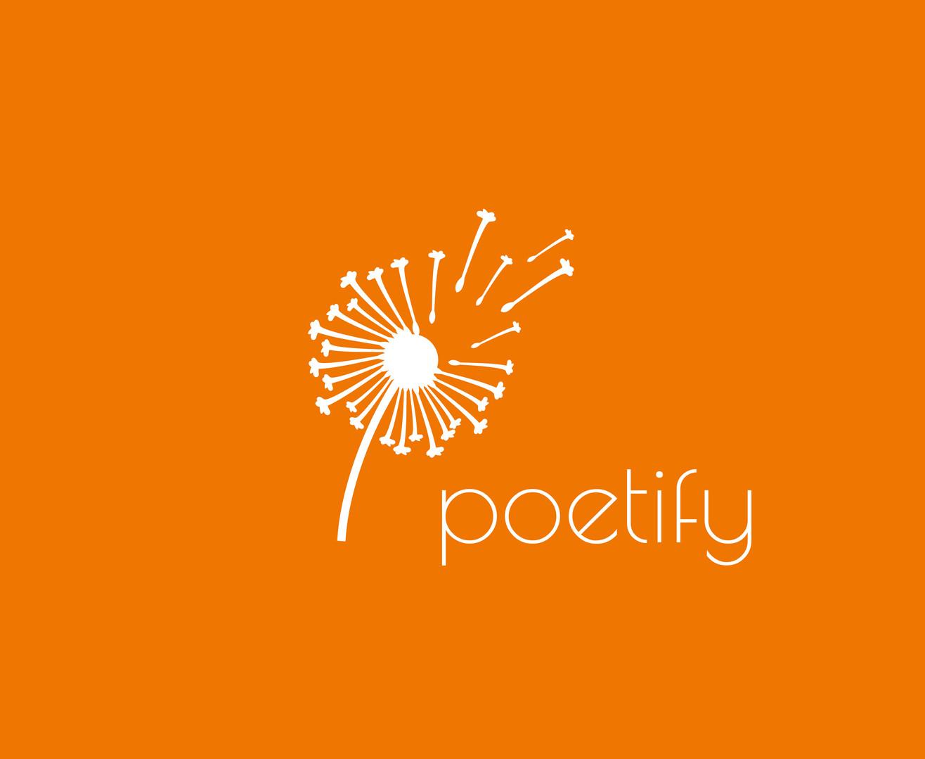 Poetify_Logo_vektorisert_hvite_bokstaver