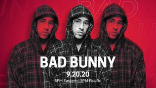 UFORIA LIVE - Bad Bunny