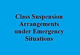 Class Suspension Arrangements under Emer