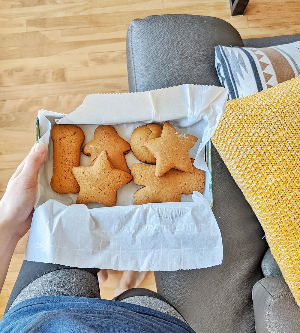 Biscuits à la mélasse végétaliens