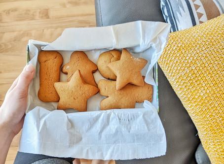 Les biscuits à la mélasse de ma mère (végétaliens)