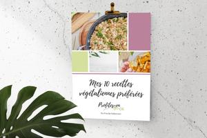 Ebook Mes 10 recettes végétaliennes préférées