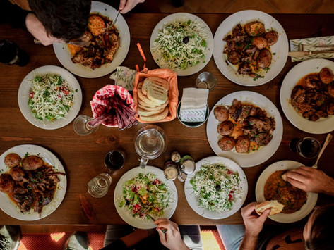 Être végétalien et se faire inviter chez des amis: quoi faire?