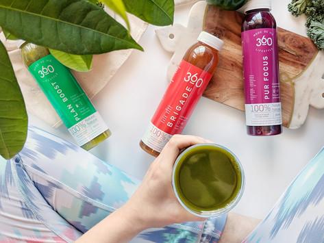 Ma plus récente découverte: les jus et smoothies mode de vie 360